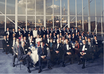 Delegates at the WFC's 1st Assembly of Members in Toronto, Canada May 1991