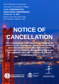 Educonf2020 Cancellation
