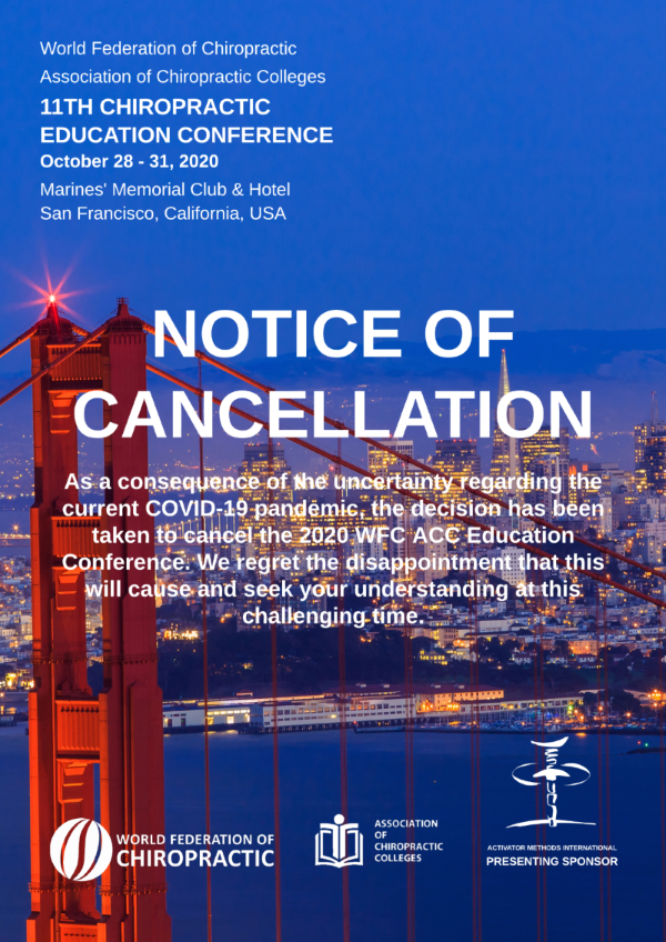 Educonf2020 cancellation notice